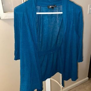 Teal Dress Coverup